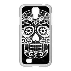 Skull Samsung Galaxy S4 I9500/ I9505 Case (white) by ImpressiveMoments