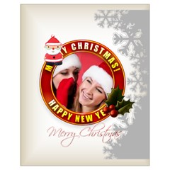 Xmas By Debe Lee   Drawstring Bag (small)   Aotsgp1ek4sm   Www Artscow Com Back