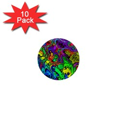 Powerfractal 4 1  Mini Magnet (10 pack)  by ImpressiveMoments