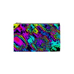 Powerfractal 2 Cosmetic Bag (small)  by ImpressiveMoments
