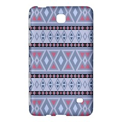 Fancy Tribal Border Pattern Blue Samsung Galaxy Tab 4 (7 ) Hardshell Case  by ImpressiveMoments