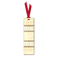 Fancy Tribal Border Pattern Beige Small Book Marks by ImpressiveMoments