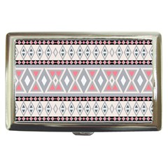 Fancy Tribal Border Pattern Soft Cigarette Money Cases by ImpressiveMoments