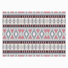 Fancy Tribal Border Pattern Soft Large Glasses Cloth (2 Side) by ImpressiveMoments