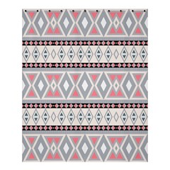 Fancy Tribal Border Pattern Soft Shower Curtain 60  x 72  (Medium)  by ImpressiveMoments