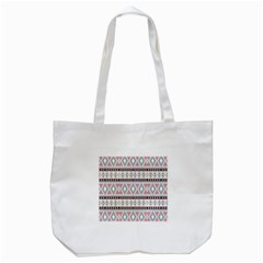 Fancy Tribal Border Pattern Soft Tote Bag (white)  by ImpressiveMoments