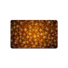 Gold Stars Magnet (name Card) by KirstenStar
