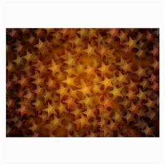 Gold Stars Large Glasses Cloth (2 Side) by KirstenStar