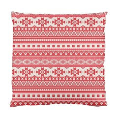 Fancy Tribal Borders Pink Standard Cushion Case (one Side)  by ImpressiveMoments