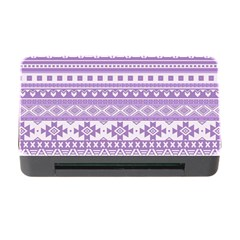 Fancy Tribal Borders Lilac Memory Card Reader With Cf by ImpressiveMoments