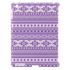 Fancy Tribal Borders Lilac Apple Ipad 3/4 Hardshell Case (compatible With Smart Cover) by ImpressiveMoments