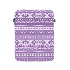 Fancy Tribal Borders Lilac Apple iPad 2/3/4 Protective Soft Cases by ImpressiveMoments