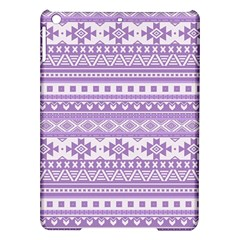 Fancy Tribal Borders Lilac Ipad Air Hardshell Cases by ImpressiveMoments