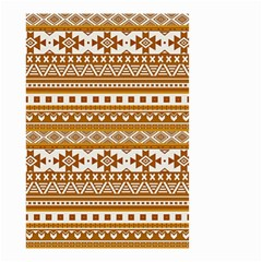 Fancy Tribal Borders Golden Small Garden Flag (two Sides) by ImpressiveMoments