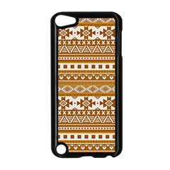 Fancy Tribal Borders Golden Apple Ipod Touch 5 Case (black) by ImpressiveMoments