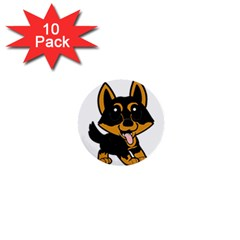 Lancashire Heeler Cartoon 1  Mini Buttons (10 pack)  by TailWags