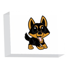 Lancashire Heeler Cartoon 5 x 7  Acrylic Photo Blocks