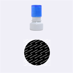 Merry Christmas,text,bordeaux Rubber Round Stamps (small) by ImpressiveMoments