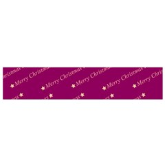Merry Christmas,text,bordeaux Flano Scarf (small)  by ImpressiveMoments