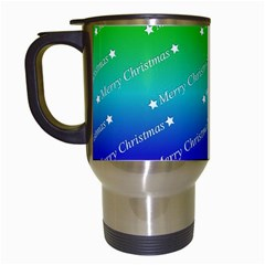Merry Christmas,text,rainbow Travel Mugs (white) by ImpressiveMoments