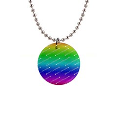 Merry Christmas,text,rainbow Button Necklaces by ImpressiveMoments