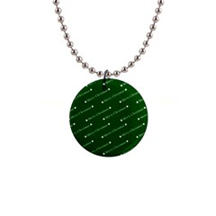 Merry Christmas,text,green Button Necklaces by ImpressiveMoments