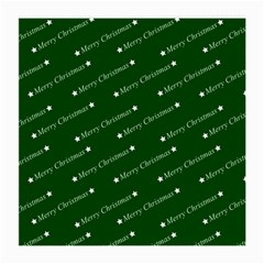 Merry Christmas,text,green Medium Glasses Cloth (2 Side) by ImpressiveMoments