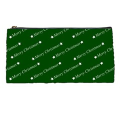 Merry Christmas,text,green Pencil Cases by ImpressiveMoments