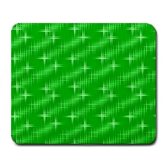 Many Stars, Neon Green Large Mousepads by ImpressiveMoments