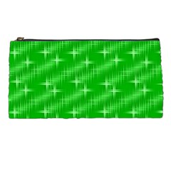 Many Stars, Neon Green Pencil Cases by ImpressiveMoments