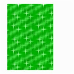 Many Stars, Neon Green Small Garden Flag (two Sides) by ImpressiveMoments