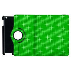 Many Stars, Neon Green Apple Ipad 2 Flip 360 Case by ImpressiveMoments