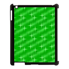 Many Stars, Neon Green Apple Ipad 3/4 Case (black) by ImpressiveMoments