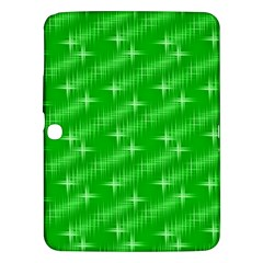 Many Stars, Neon Green Samsung Galaxy Tab 3 (10 1 ) P5200 Hardshell Case  by ImpressiveMoments