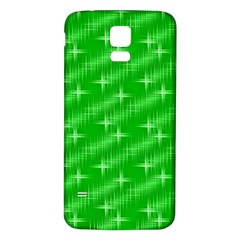 Many Stars, Neon Green Samsung Galaxy S5 Back Case (white) by ImpressiveMoments
