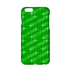 Many Stars, Neon Green Apple Iphone 6 Hardshell Case by ImpressiveMoments