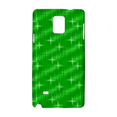 Many Stars, Neon Green Samsung Galaxy Note 4 Hardshell Case by ImpressiveMoments