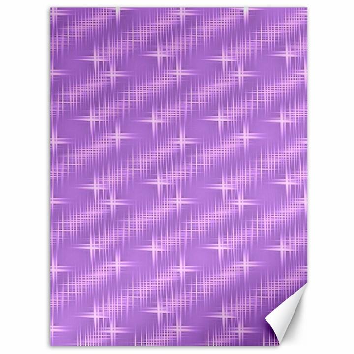 Many Stars, Lilac Canvas 36  x 48