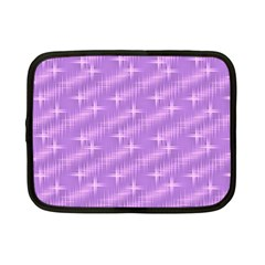 Many Stars, Lilac Netbook Case (small)  by ImpressiveMoments