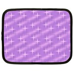 Many Stars, Lilac Netbook Case (XXL)  Front