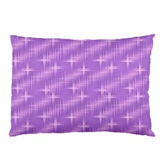 Many Stars, Lilac Pillow Cases (two Sides) by ImpressiveMoments