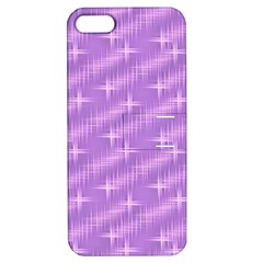 Many Stars, Lilac Apple Iphone 5 Hardshell Case With Stand by ImpressiveMoments