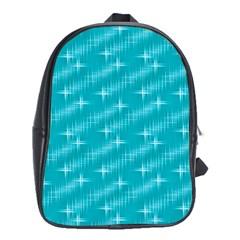 Many Stars,aqua School Bags (xl)  by ImpressiveMoments