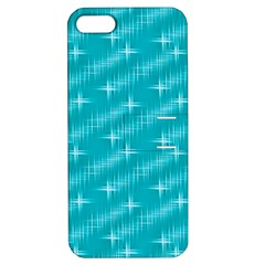 Many Stars,aqua Apple Iphone 5 Hardshell Case With Stand by ImpressiveMoments