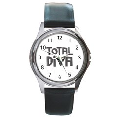 Total Diva  Round Metal Watches