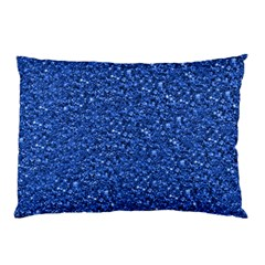 Sparkling Glitter Blue Pillow Cases by ImpressiveMoments