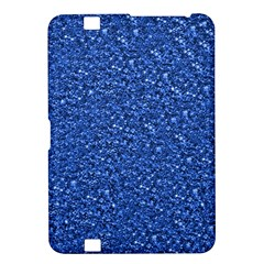 Sparkling Glitter Blue Kindle Fire Hd 8 9  by ImpressiveMoments