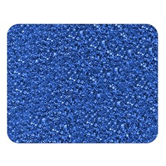 Sparkling Glitter Blue Double Sided Flano Blanket (large)  by ImpressiveMoments