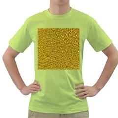 Sparkling Glitter Golden Green T Shirt by ImpressiveMoments