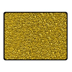 Sparkling Glitter Golden Fleece Blanket (Small)